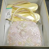 【和装小物】草履・バッグセット