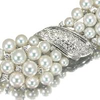 【和装小物】アコヤ真珠帯留め